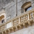 De Monti Castle of Corigliano d'Otranto. Puglia. Italy. - Stock Photo