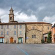 St. Lorenzo Church. Bobbio. Emilia-Romagna. Italy. — Stock Photo