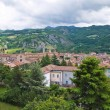 Royalty-Free Stock Photo: Panoramic view of Bobbio. Emilia-Romagna. Italy.