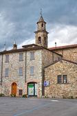 St. Lorenzo Church. Bobbio. Emilia-Romagna. Italy. — Stock Photo