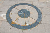 Compass. Bobbio. Emilia-Romagna. Italy. — Stock Photo