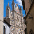 Stock Photo: Alleyway. Orvieto. Umbria. Italy.