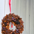 Stock Photo: Christmas garland.