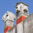 Chimneys. - Stock Photo