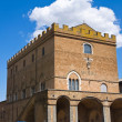 Soliano palace. Orvieto. Umbria. Italy. - Stock Photo