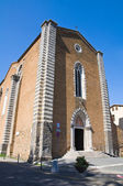 Church of St. Domenico. Orvieto. Umbria. Italy. — Stock Photo