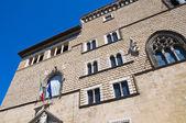 Palazzo vitelleschi. tarquinia. lazio. italia. — Foto Stock