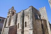 Church of St. Pancrazio. Tarquinia. Lazio. Italy. — Stock Photo
