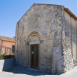 Church di St. Salvatore. Tarquinia. Lazio. Italy. — Stock Photo