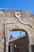 Porta tarquinia. tarquinia. lazio. italië. — Stockfoto