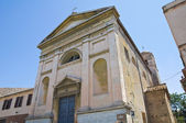 Church of SS. Trinità. Tarquinia. Lazio. Italy. — Stock Photo