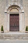 St. Maria in Castello Church. Tarquinia. Lazio. Italy. — Stock Photo