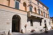 Palazzo bruschi falgari. tarquinia. lazio. italia. — Foto Stock
