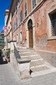 Palais historique. tarquinia. lazio. italie. — Photo