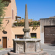 Monumental fountain. Tarquinia. Lazio. Italy. — Stock Photo #12181257
