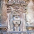 Giannotti fountain. Tuscania. Lazio. Italy. - Stockfoto