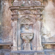 Giannotti fountain. Tuscania. Lazio. Italy. - Foto Stock