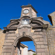 Porta di Poggio. Tuscania. Lazio. Italy. - Stock Photo