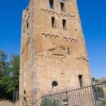 St. Maria Maggiore Belltower Basilica. Tuscania. Lazio. Italy. — Stock Photo #12183791