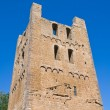 St. Maria Maggiore Belltower Basilica. Tuscania. Lazio. Italy. — Stock Photo