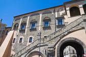 Town Hall Building. Tarquinia. Lazio. Italy. — Stock Photo