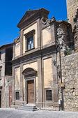 Church of St. Spirito. Tarquinia. Lazio. Italy. — Stock Photo