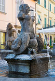 Fountain of Poggio. Tuscania. Lazio. Italy. — Stock Photo