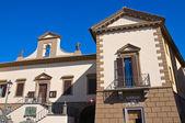 Town Hall Building. Tuscania. Lazio. Italy. — Stock Photo