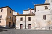 Aleja. tuscania. lazio. włochy. — Zdjęcie stockowe