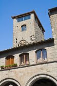 Palace of Alessandri. Viterbo. Lazio. Italy. — Foto de Stock