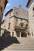 Poscia Palace. Viterbo. Lazio. Italy. — Stock Photo