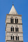 Belltower Cathedral of Viterbo. Lazio. Italy. — Stock Photo