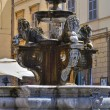 Fountain of St. Stefano. Viterbo. Lazio. Italy. — Stock Photo
