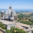 Cathedral of St. Margherita. Montefiascone. Lazio. Italy. - Stok fotoğraf
