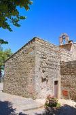 Church of St. Maria della Neve. Montefiascone. Lazio. Italy. — Стоковое фото