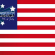 Independence Day card or background. July 4. — Stock Photo #11031495