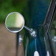 Vintage Car, detail of the mirror - Photo
