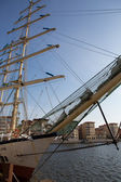 Frigate the Chopin in harbor of Goteborg, Sweden — Foto Stock