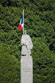 War Memorial with General Foch — Stock Photo