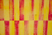 Yellow and red Stripes — Stock Photo