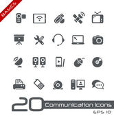 Communication Icons // Basics — Stock Vector