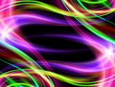 Abstract wavy colorful design backdrop — Stock Photo