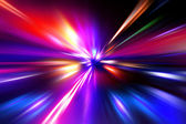 Colorful radial radiant effect — Stock Photo