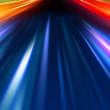 Stock Photo: Abstract night acceleration speed motion