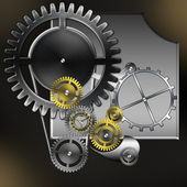 Relógios mecânicos — Fotografia Stock