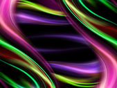 Abstract wavy colorful design backdrop — 图库照片