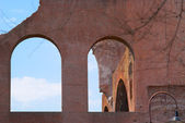 The Roman ruins of atichnye in Rome, Italy. — Stock Photo