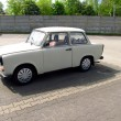 Trabant, good old East German plastic car — Stock Photo