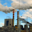 Stock Photo: Lignite-fired plants