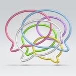 Wire dialogue balloons — Stock Vector #11790468